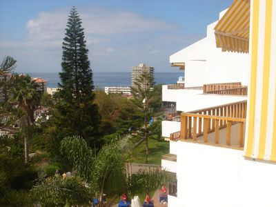 The view from the lower balcony