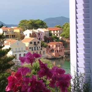 Photo for SUPERB LUXURY STUDIO IN ASSOS-Stunning bay views -2 min to beach & tavernas!