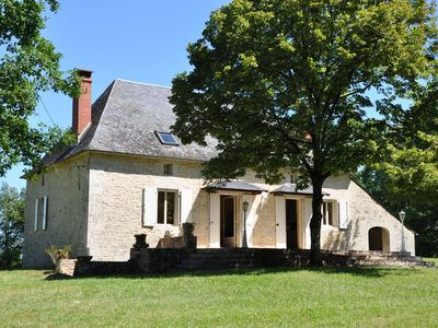Photo for Périgord black Perigord house Salamonie the private heated pool 1,6ha