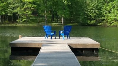 Private floating dock