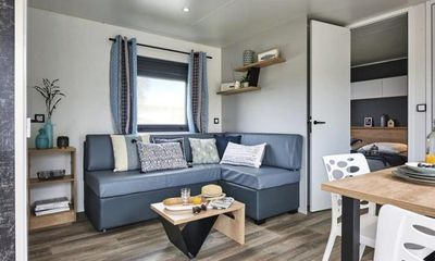 Photo for Camping Le Rivage **** - Premium Mobile Home 4 Rooms 6 People