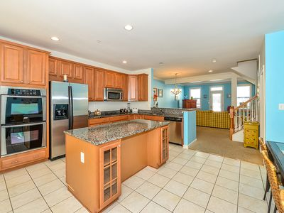 Photo for Cute Luxury 5 Bedroom Townhouse With WiFi In Gated Community On Bayside With Indoor/Outdoor Pools, Private Beaches, Restaurant, And More Just Ten Minutes From Beach!