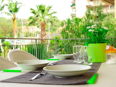 Photo for Sweet Home apartment in Roccalumera with WiFi, integrated air conditioning & balcony.
