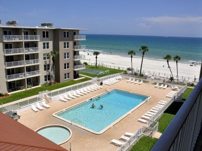 Photo for A Sliver of paradise with an Ocean view! No drive Beach in NSB