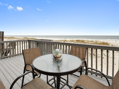 Photo for Sea Bell-Gulf Front House on W. Beach, 4 /3 Bath With Pool, Sleeps 12