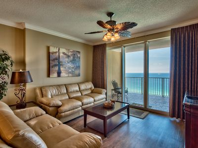 Photo for All new Gulf Front condo. Totally renovated! Huge balcony! Free beach service!