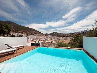 Photo for Casita with superb views and private pool