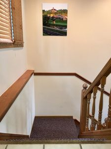 Stairs From Entry To Great Room And Lower Level
