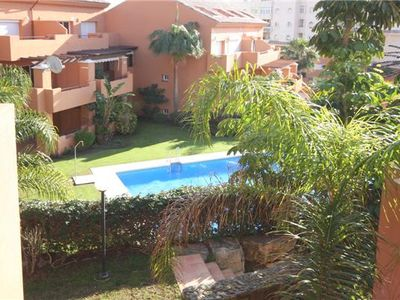Photo for Modern Bright 2 Bed Apartment with Communal Pool, Estepona marina apartment, close to all facilities