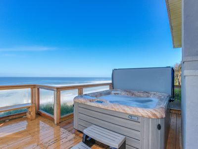 Photo for Oceanfront home w/ private hot tub, terrific views, and space for 16 guests