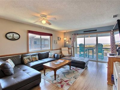 Photo for SemiOceanfront Condo in Hatteras-Elevator, Comm Pool