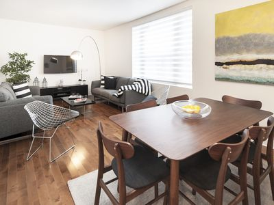 Family apartment fully furnished in the middle of Downtown Montreal