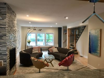 Photo for Luxury Gourmet Townhome in downtown Hudson