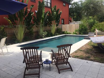 Lovely Pool Oasis With Fenced Yard