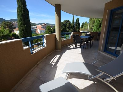 Photo for Center CAVALAIRE Apartment T3 neuf - Beach, port and shops with feet