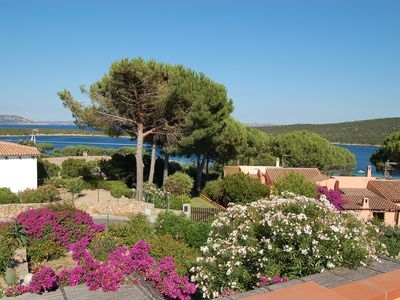 Photo for Mediterranean Cottage with Garden, Terrace and Sea View; Parking Available, Pets Allowed