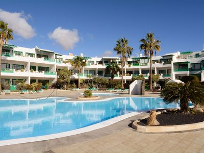 Photo for Nice apartment in cozy complex just 300 m from Playa Sebastian