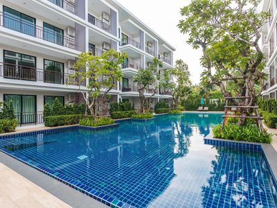 Photo for The Title Resort F101A - Direct pool access 2 bedroom apartment