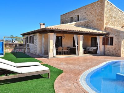 Photo for Son Costa Majorcan villa with swimming pool and mountain views 065