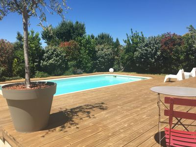 Photo for Beautiful contemporary house with pool, near Aix en Provence