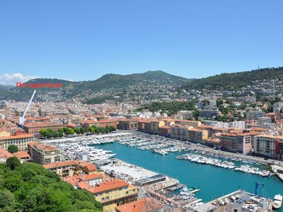 Photo for CHARMING APARTMENT AT THE PORT OF NICE