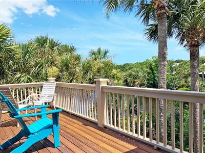 Photo for 9 Silvermoss- Gorgeous Kiawah Home with Lagoon & Golf Course Views. Short Walk to Beach, Pool Access