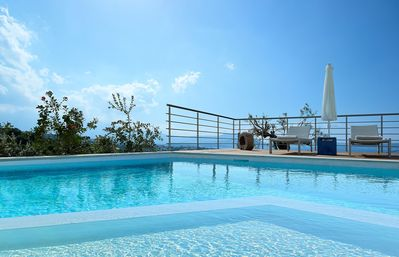 Photo for Ultimate luxury! Villa w/ private pool and captivating sea views
