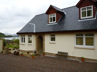 Craig Moray Cottages. 2 fabulous semi-detached properties owned by us :)