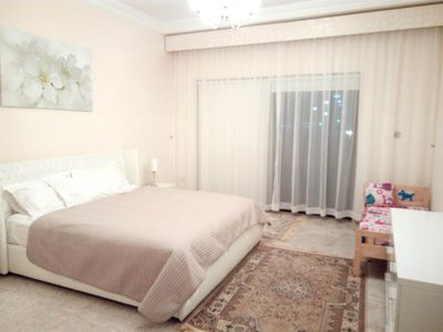 Photo for Luxury 2 br app 1 floor Fairmont, Palm!