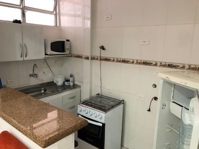 Photo for RENT APARTMENT IN FRONT OF THE BEACH OF GONZAGA IN SANTOS!