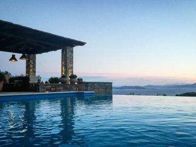 Photo for Akrolithos Villa - Private Pool│Breathtaking View│Luxurious Comfort