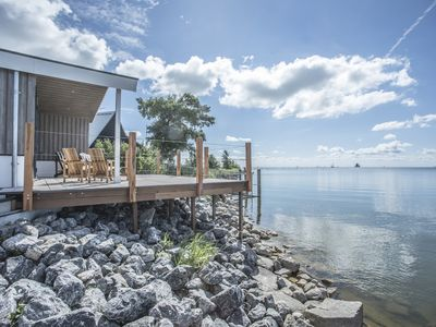 Photo for Exclusive recreation villa with stunning views over the Markermeer