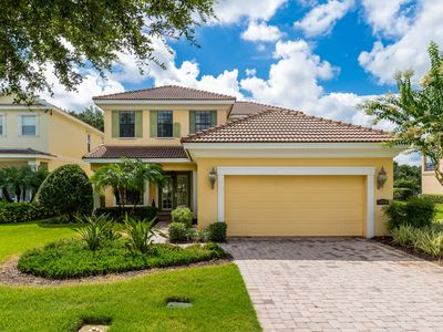 Photo for Luxury 4,498 sq. ft., 5 Bed, Movie Room, Game Room, Overlooking Golf Course