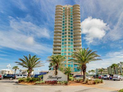 Photo for Luxurious condo w/ shared pool & hot tub - steps to the beach