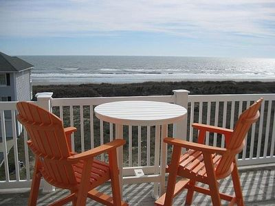 Photo for 4br/4ba 2nd Row! Full Ocean View From Top Floor Villa, Steps To Beach And Pool