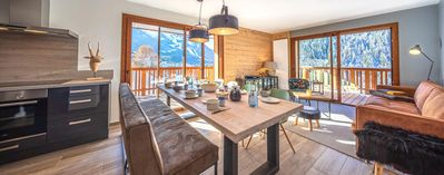 Photo for New, modern and bright apartment in the center of Chatel and a few steps from the slopes
