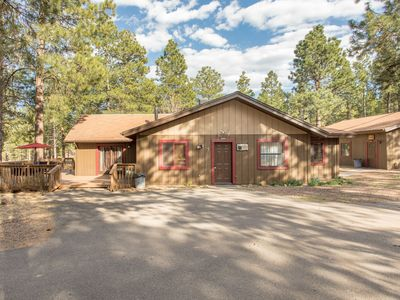 Photo for One of a kind property in flagstaff It is a Cabin on 10 acres with bunkhouse