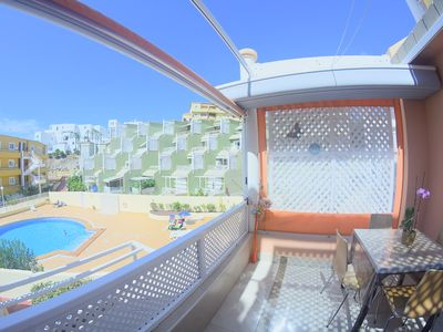 Photo for Beautiful Apartment By The Beach In Costa Adeje, South Tenerife