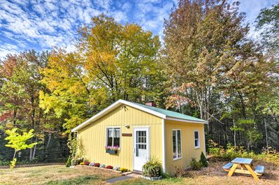 Plan a romantic getaway to this 1-bedroom, 1-bath vacation rental cottage.