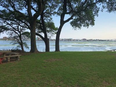 Photo for Waterway Perch Apt 2 BR/1 BA Intracoastal View WIFI Linens Full Kitchen