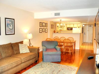 Beautiful ocean views from the balcony in this popular resort offering many amenities including l...