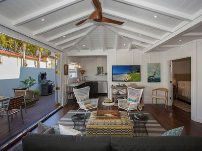 Photo for The Cottage at West Beach - Coastal Designer Style in the Heart of SB!