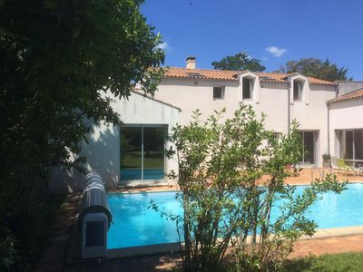 Photo for Large house with pool in La Rochelle capacity 15 beds ideally located