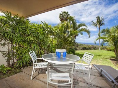 Photo for Maui Kamaole Spectacular ocean view 1 bdrm, two full bath, newly remodeled condo. A-103