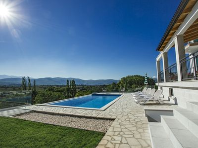 Photo for NEW!! Luxury villa IN EXCELSIS with private 36sqm pool, 5 bedrooms, 5 bathrooms
