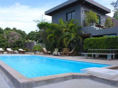Photo for Chiang Mai Luxury Private Pool Villa (5 Bedrooms, Terrace Views, Hi-Speed WiFi)