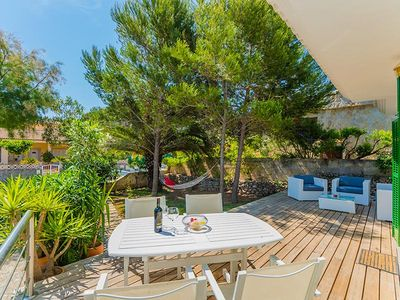 Photo for DETACHED SINGLE HOUSE - quiet, near the beach, garden with terrace + roof terrace, TV