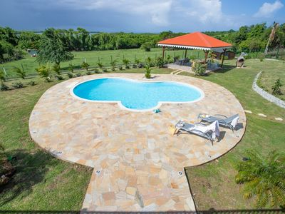 Photo for Villa Pom Kanel, 5 bedrooms with pool