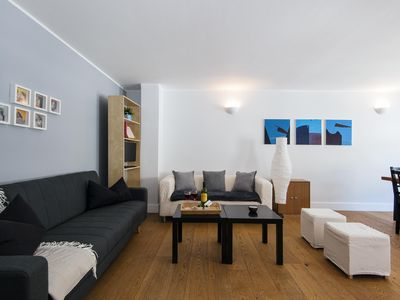 Photo for Grafton Mews apartment in Camden with WiFi.