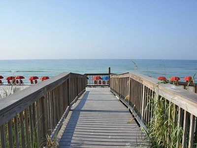 Photo for Elegant living on Navarre Beach. Spectacular views from the 8th floor balcony!